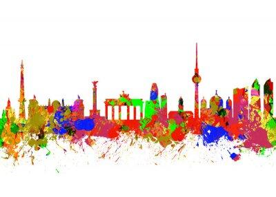 Плакат Берлин Бранденбургские ворота