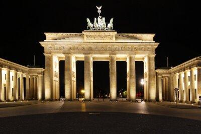 Плакат Берлин - Бранденбург Тор