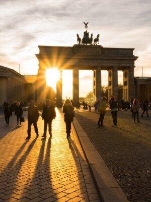 Плакат Берлин, Бранденбургские ворота