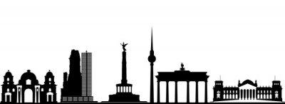 Плакат Берлин город небоскребов