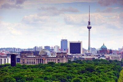 Плакат Берлин городской