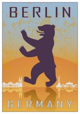 Плакат Берлин старинные сайт