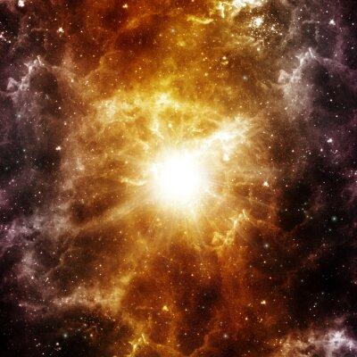 Плакат Рождение звезды