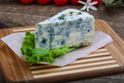 Плакат Голубой сыр