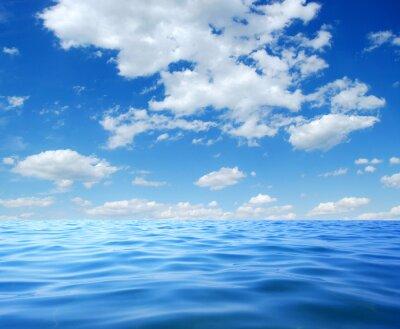 Плакат Синий морской воды