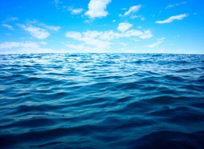 Плакат Поверхность Синий морской воды