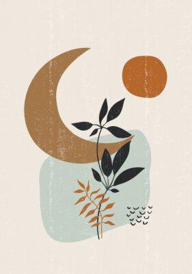 Плакат Botanical print boho minimalist printable wall art