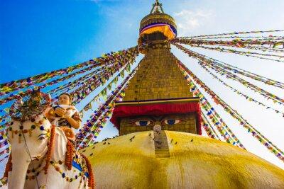 Плакат Боднатх Ступа, Катманду, Непал