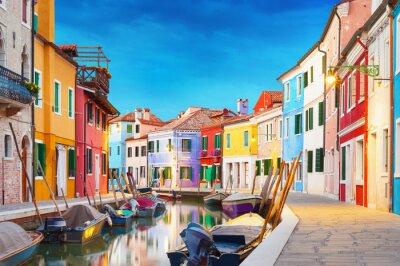 Плакат Бурано Венеция Италия