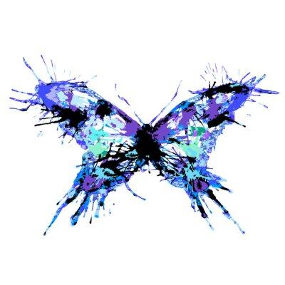 Плакат бабочки дизайн
