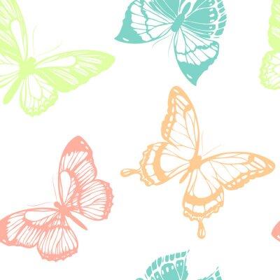 Плакат дизайн бабочки