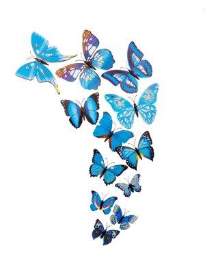 Плакат Бабочки стены стикеры