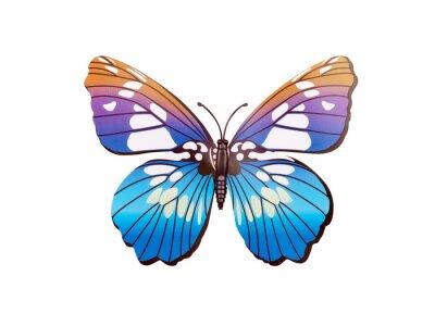 Плакат стикер стены бабочки