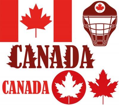 Плакат Канада