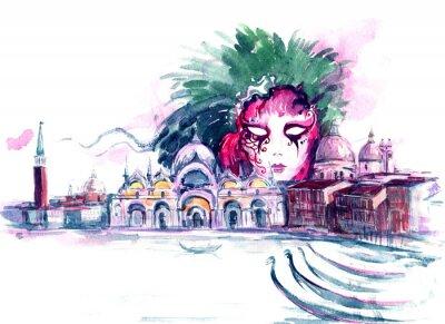 Плакат карнавал