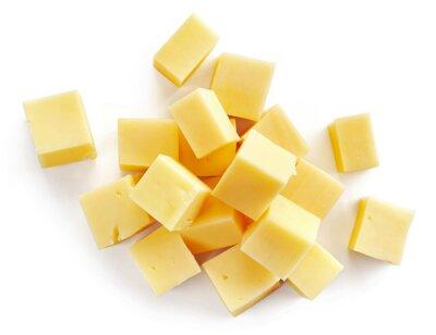 Плакат cheese pieces