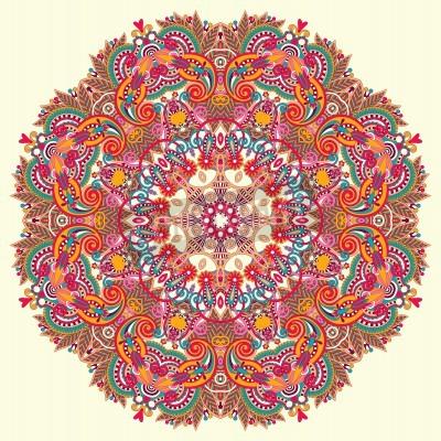 Плакат Круг орнамент, декоративные круглый кружево