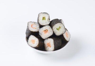 Плакат Классические суши рулонах