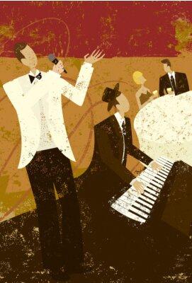 Плакат Клуб Певица
