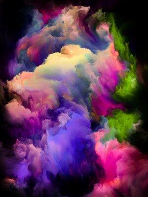 Плакат Colorful Cloud Abstraction