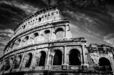 Плакат Колизей в Риме, Италия.