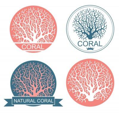 Плакат Коралловый