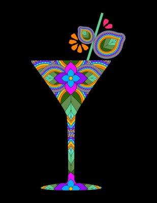 Плакат Творческий коктейль