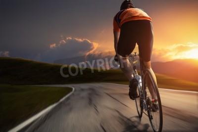 Плакат Езда на велосипеде