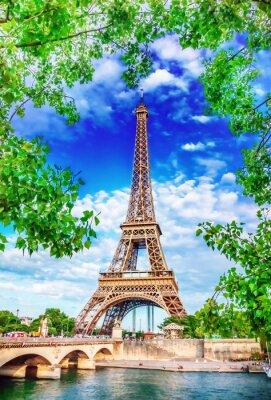 Плакат Эйфелева башня