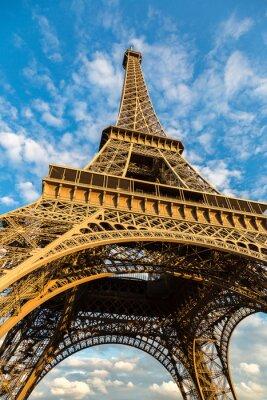Плакат Эйфелева башня в Париже