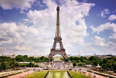 Плакат Эйфелева башня, Париж