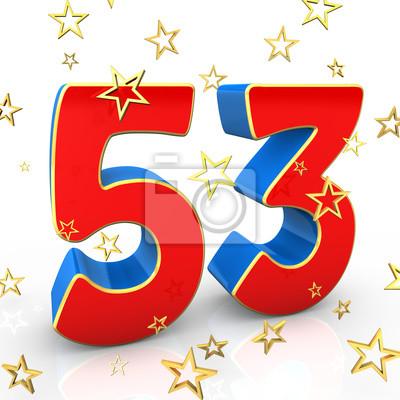 Для открытки, открытка день рождения 53 года