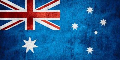 Плакат флаг Австралии