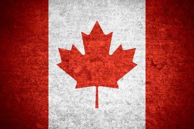 Плакат флаг Канады
