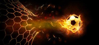 Плакат огненное символ