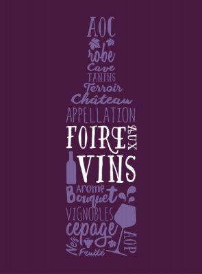 Плакат Foire Aux Vins