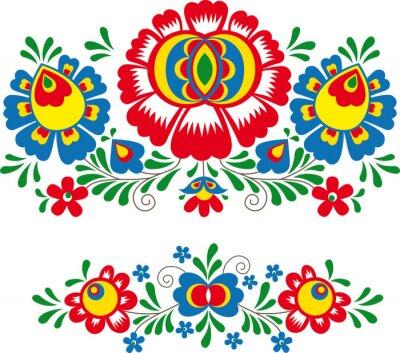 Плакат Folk ornaments