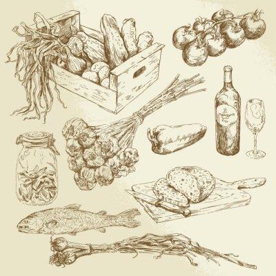 Плакат питание коллекции