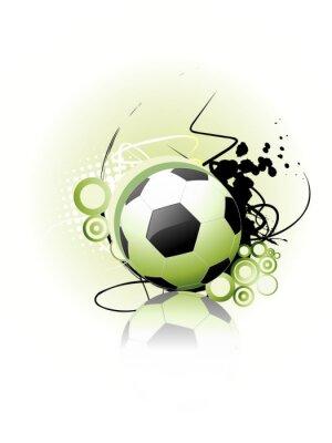 Плакат Футбол векторной графики