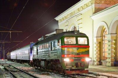 Плакат Транспортно-пассажирский дизель-поезд