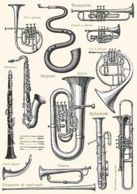 Плакат Французская музыка плакат