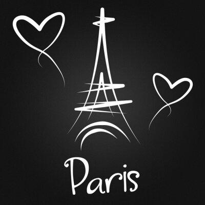 Плакат Из Парижа с любовью