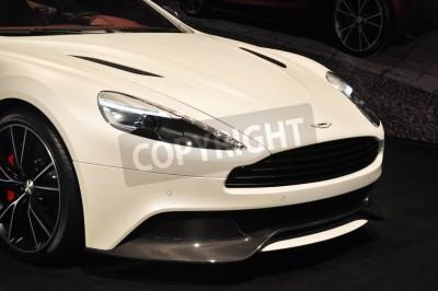 Плакат Вид спереди Aston Martin