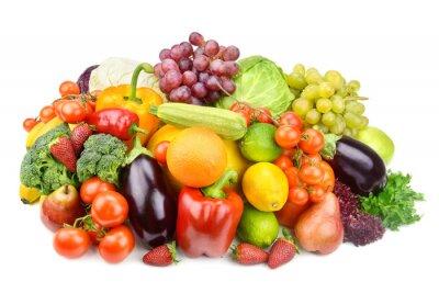Плакат фрукты и овощи