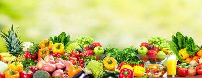 Плакат Фрукты и овощи.