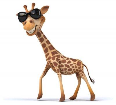 Плакат Fun жираф