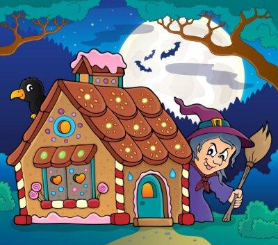 Плакат Пряничный дом тема image 4