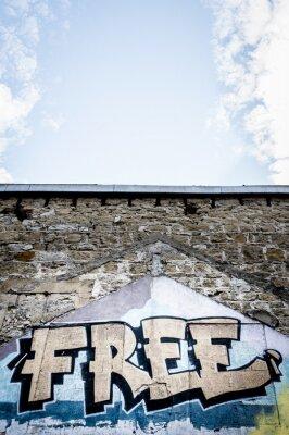 Плакат Граффити Бесплатно