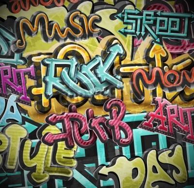 Плакат Граффити фон гранж, EPS 10