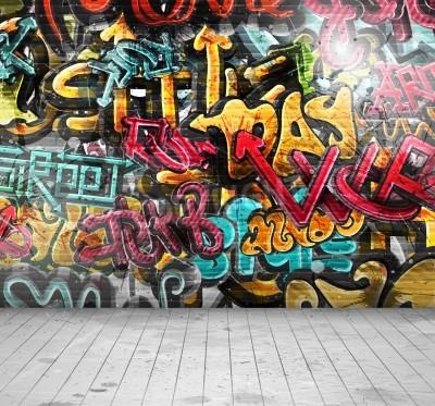Плакат Граффити на стене, EPS 10